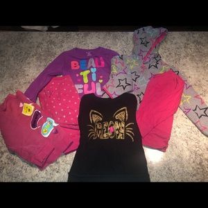 Girls 4T Garanimals sweatshirt lot